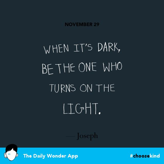 Shared from The Daily Wonder App` choosekind Wonder