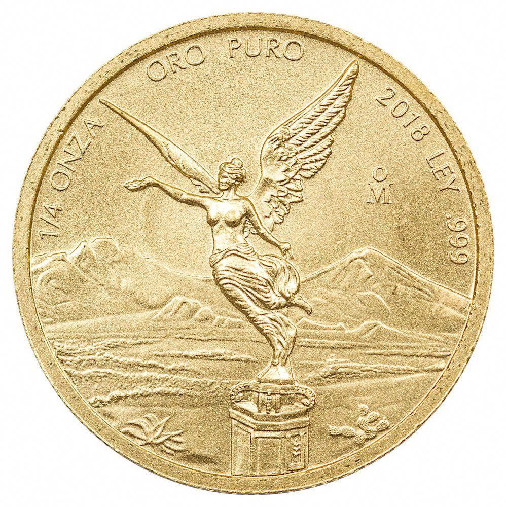 2018 Mo Mexico 1 4 Oz Gold Libertad 0 25 Onza Coin Gem Bu Sku54880 Goldcoins Gold Investing Goldinvesting Coins Gold Coins Buying Gold