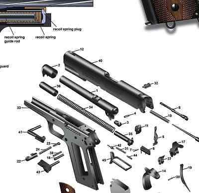 Sensational Colt 1911 Exploded Parts Diagram Wiring Diagram Database Wiring Cloud Tobiqorsaluggs Outletorg