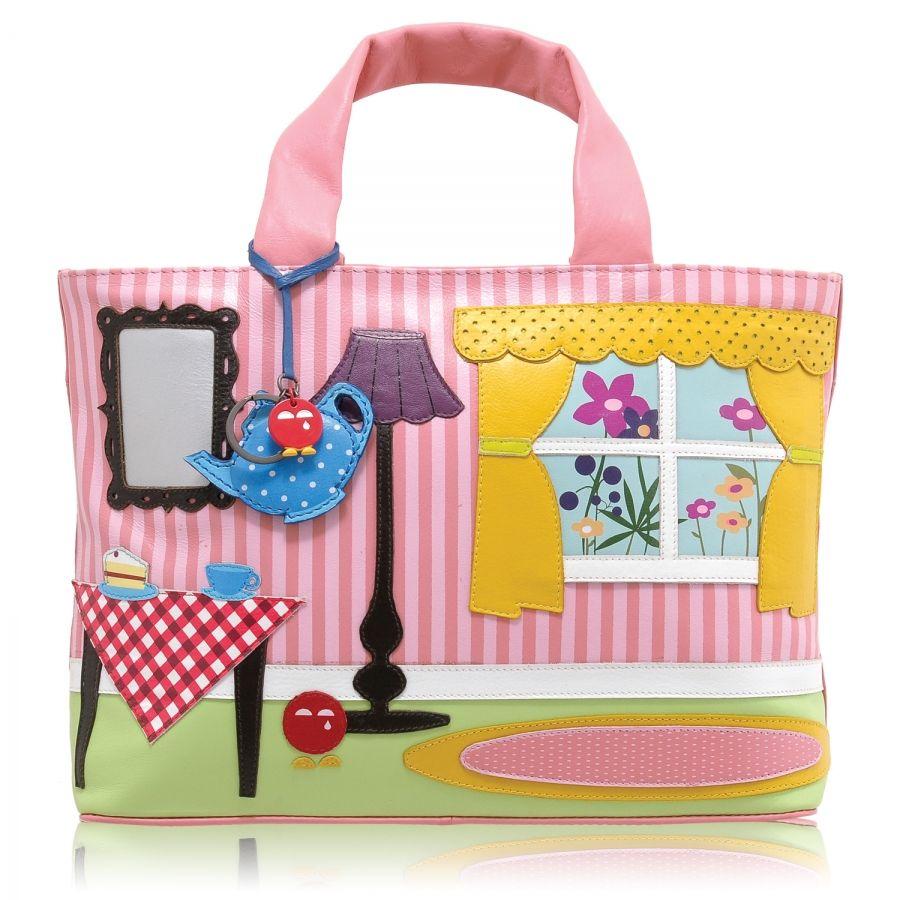 Yoshi Handbags Limited Edition Home Lique Handbag