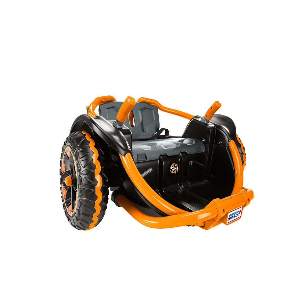 Benefits Of Ride On Toys : Video review for power wheels wild thing orange