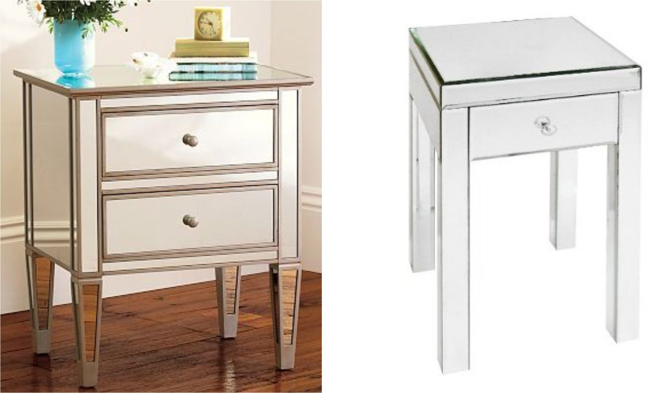 Mirrored End Table Target Modern Home Furniture Check More At Http Www