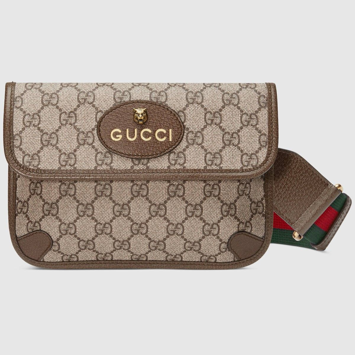 9ef5deabf2214e GUCCI GucciTotem GG Supreme messenger - GG Supreme/brown. #gucci #bags # canvas #tote #leather #lining #shoulder bags #linen #hand bags #nylon  #cotton #