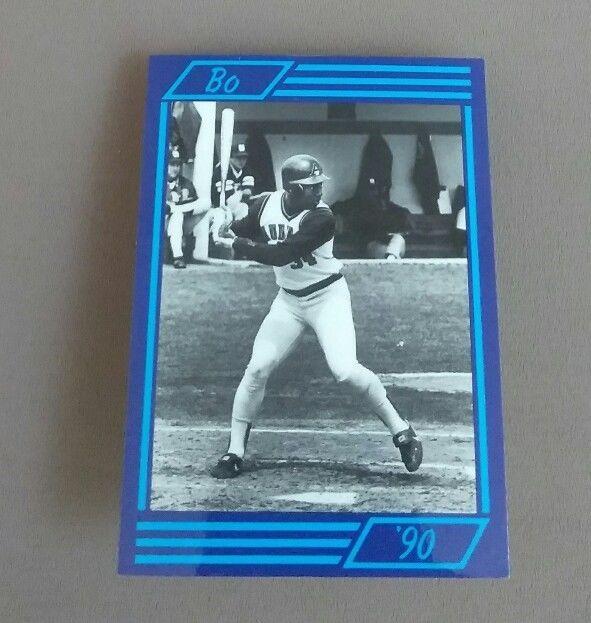 Bo Jackson Auburn Collegiant Rare Unlicensed Baseball Card