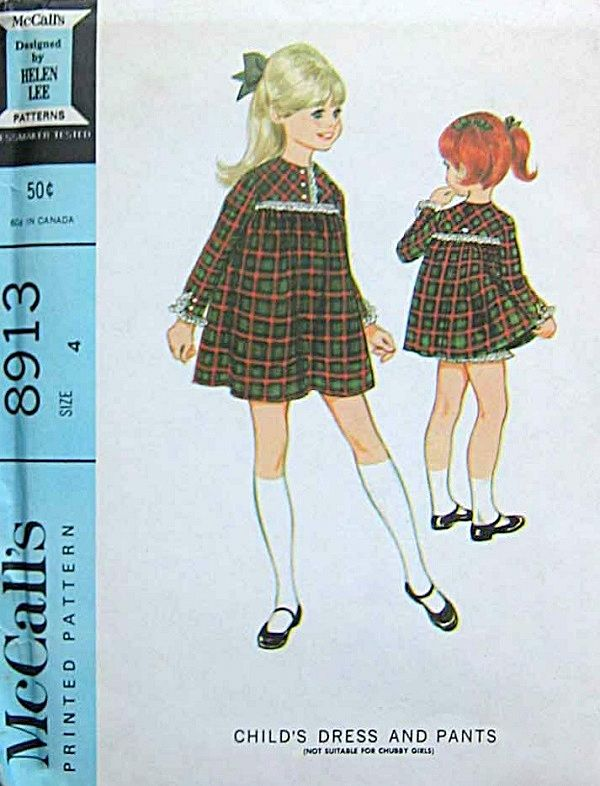 McCall's 8913 by Helen Lee © 1967.