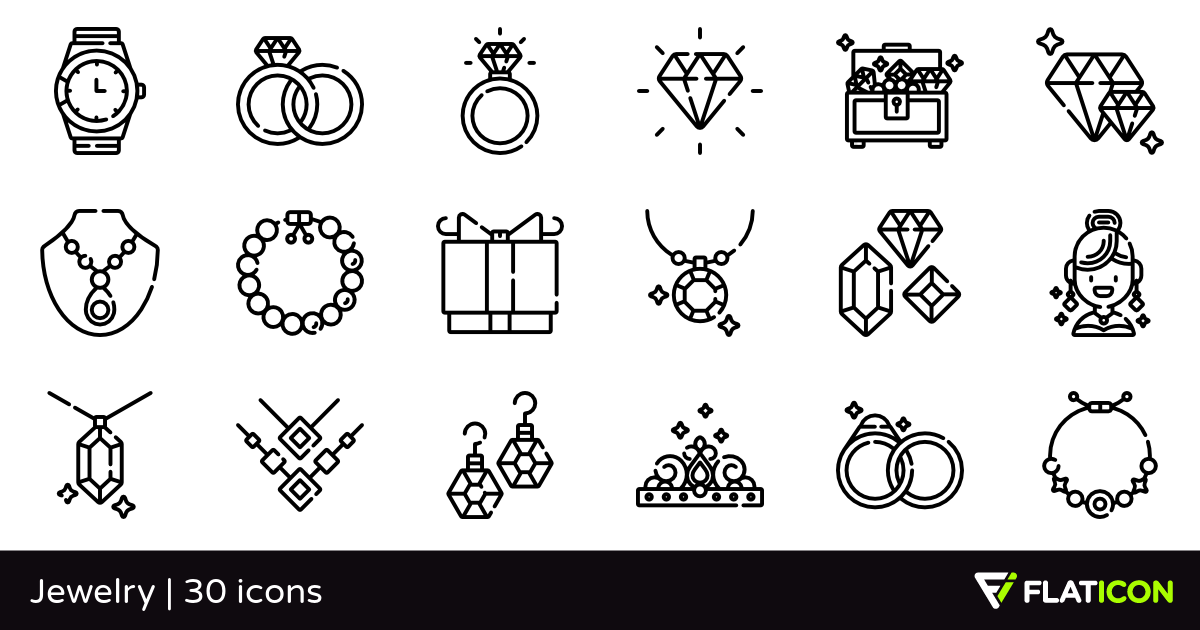 30 free vector icons of Jewelry designed by Freepik (con