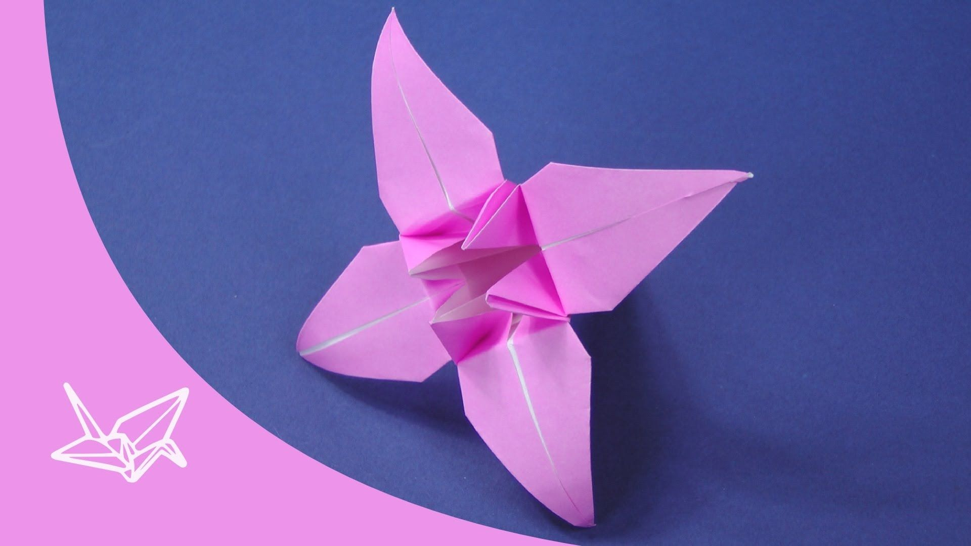 Download video origami flower lily 100th video origami download video origami flower lily 100th video origami flower and learning jeuxipadfo Image collections
