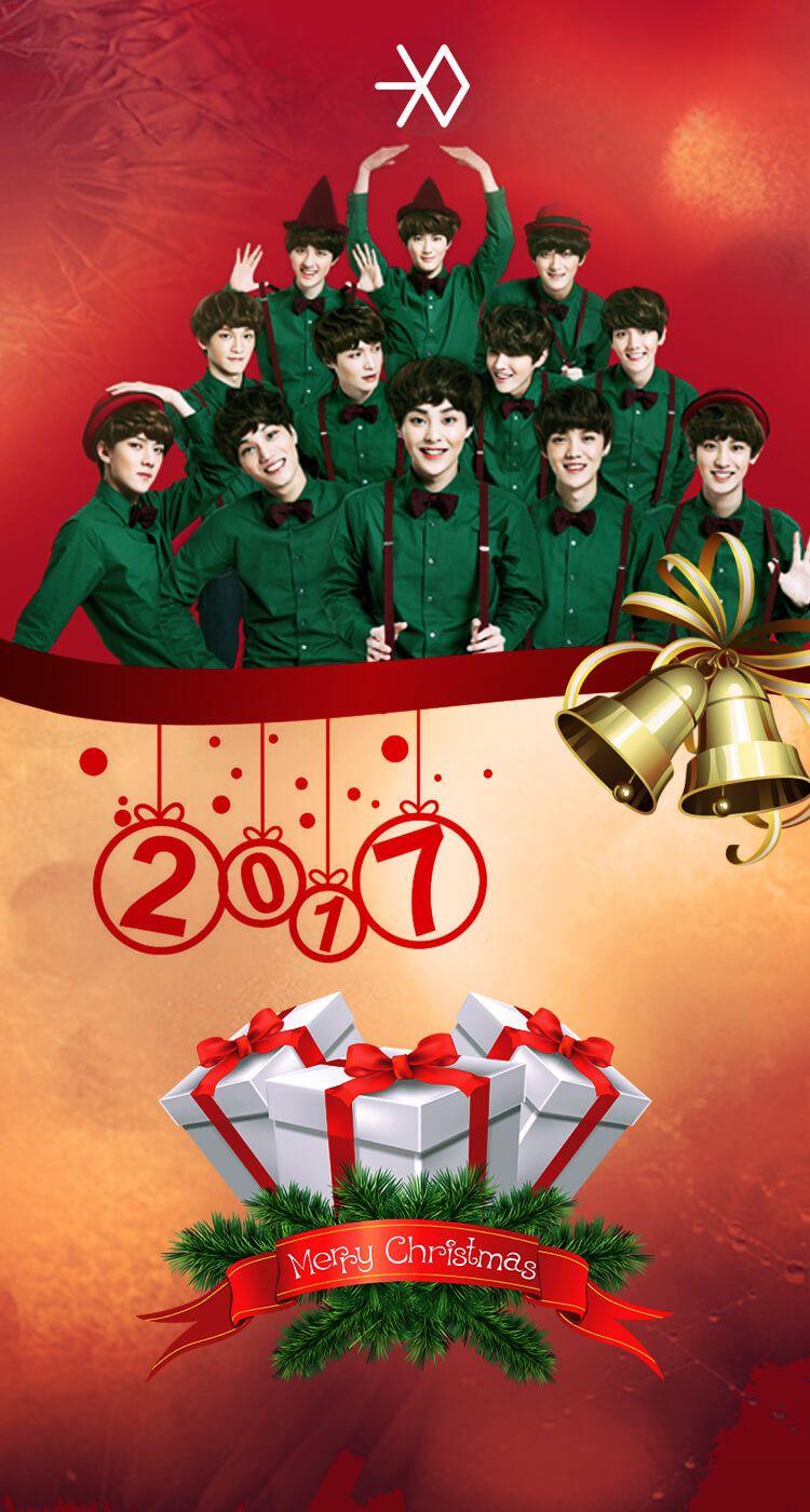EXO 2017 Christmas Wallpaper