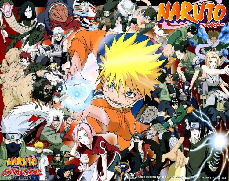 Naruto Character Wallpaper All The Naruto Characters Are In This