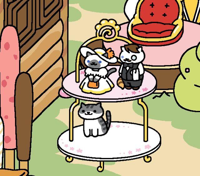 sapphire and jeeves brand new neko atsume rare cats omgg neko atsume neko atsume neko cats. Black Bedroom Furniture Sets. Home Design Ideas