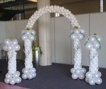 Decoracion con globos decoracion con globos para bodas for Decoracion con fotos
