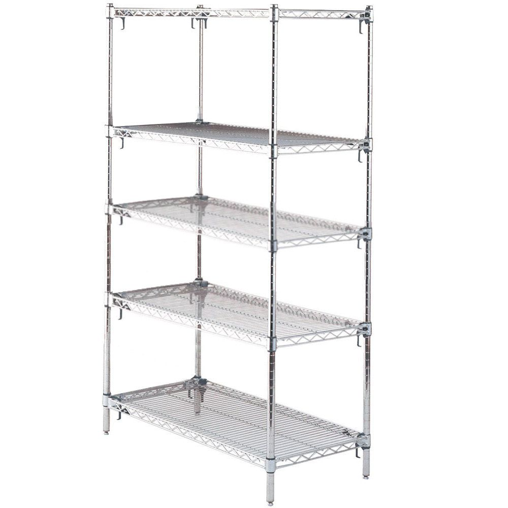 Metro Chrome Wire Shelving Units - WIRE Center •