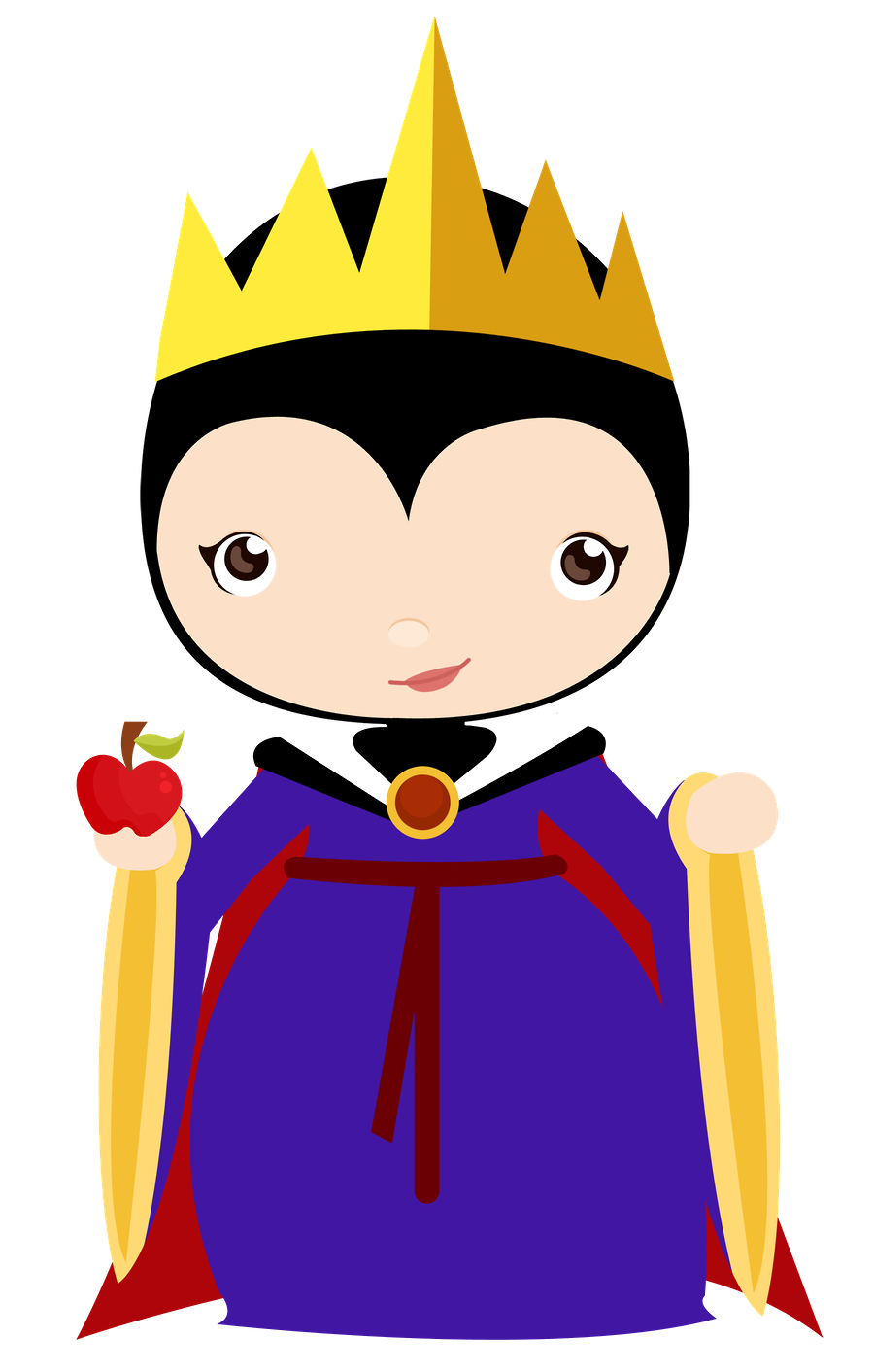 cute clipart disney clipart snow white birthday disney [ 900 x 1412 Pixel ]