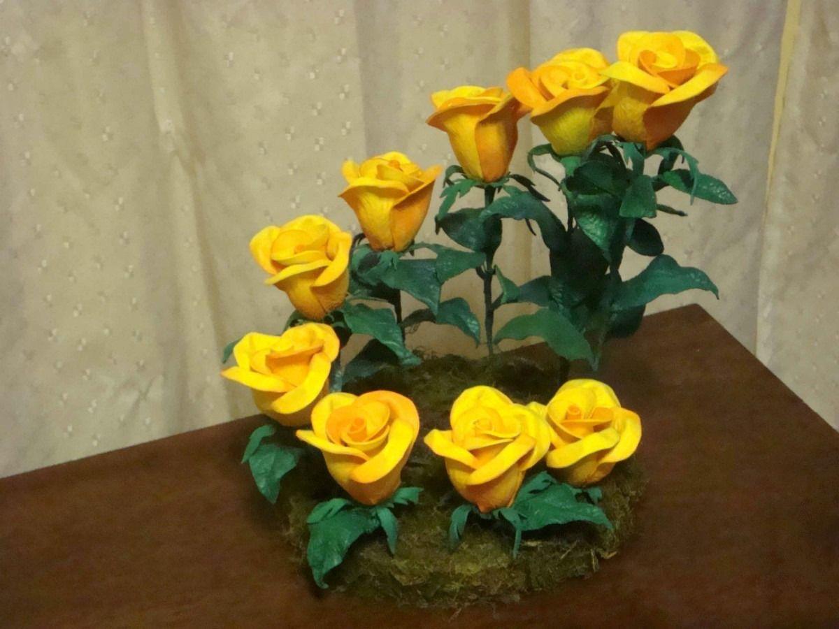 Centros de mesa con flores de goma eva buscar con google - Flores con goma eva ...
