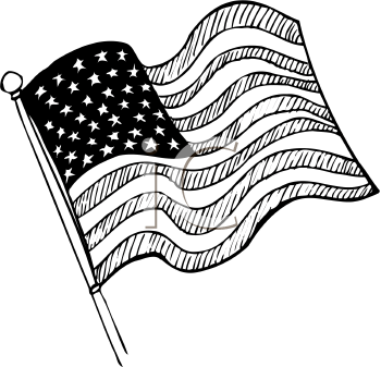 Royalty Free United States Flag Clipart Flag Drawing Clip Art Free Clip Art