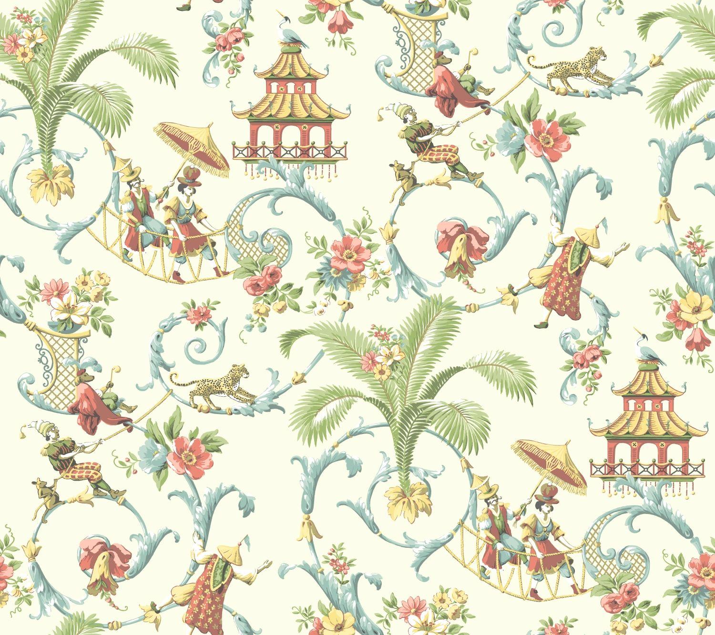 WA7771.jpg Asian wallpaper, Chinoiserie wallpaper