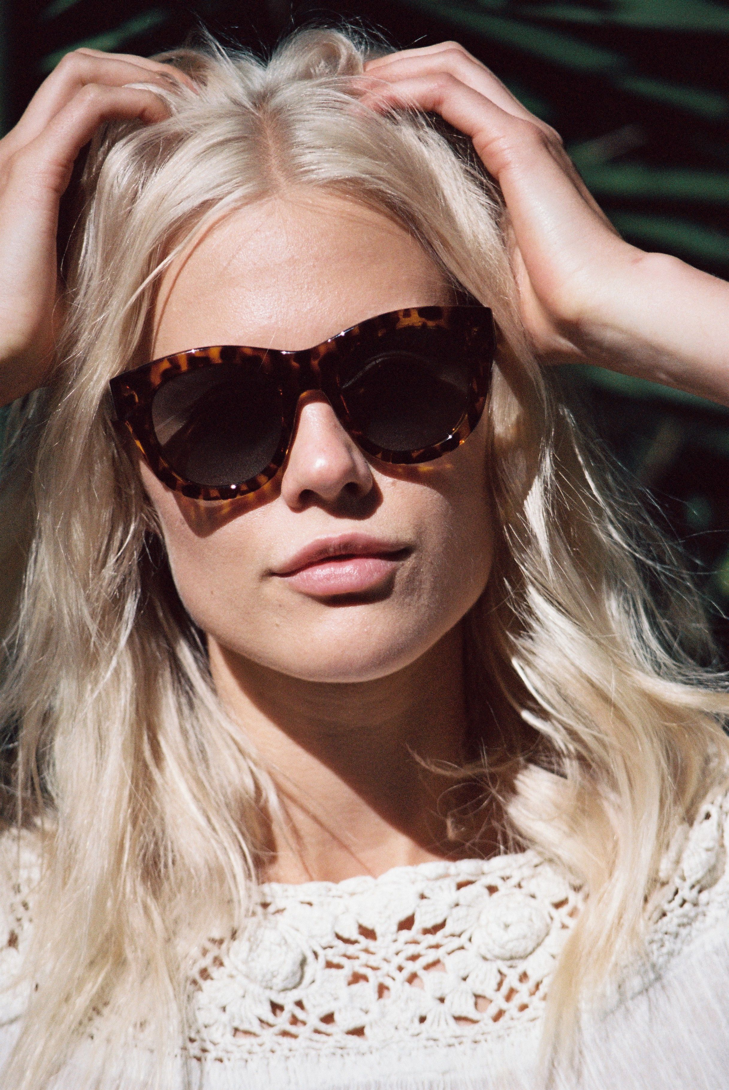 Becca hiller dblanc eyewear ss 2016 campaign hq photo shoot new images