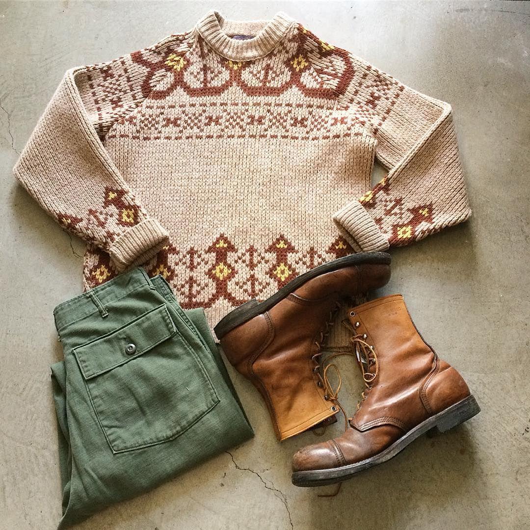 Pendleton Fair Isle Shetland Sweater $64 $16(shipping) domestic ...