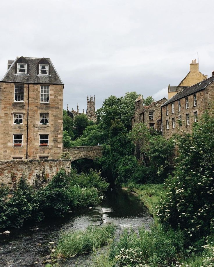 Dean Village, Edinburgh - Elsaannukka