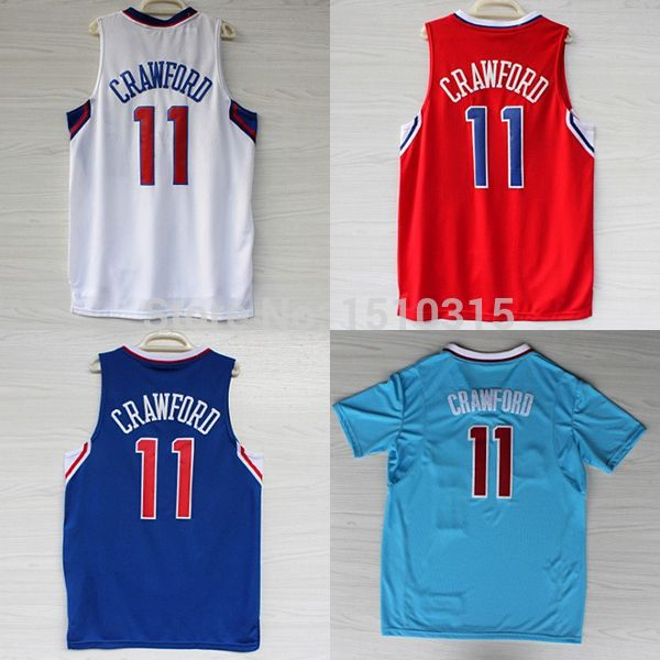82d73701d Aliexpress.com   Buy Jamal Crawford Los Angeles 11 Jersey ...