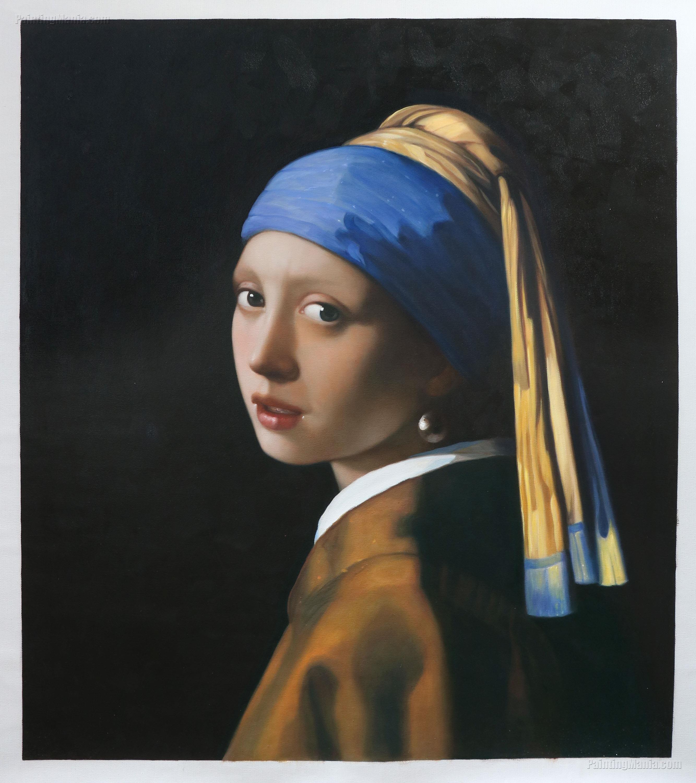 Girl with a Pearl Earring Vermeer paintings, Johannes