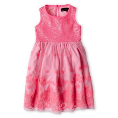 Disorderly Kids® Sequin-Bodice Dress - Girls 12m-6y  found at @JCPenney