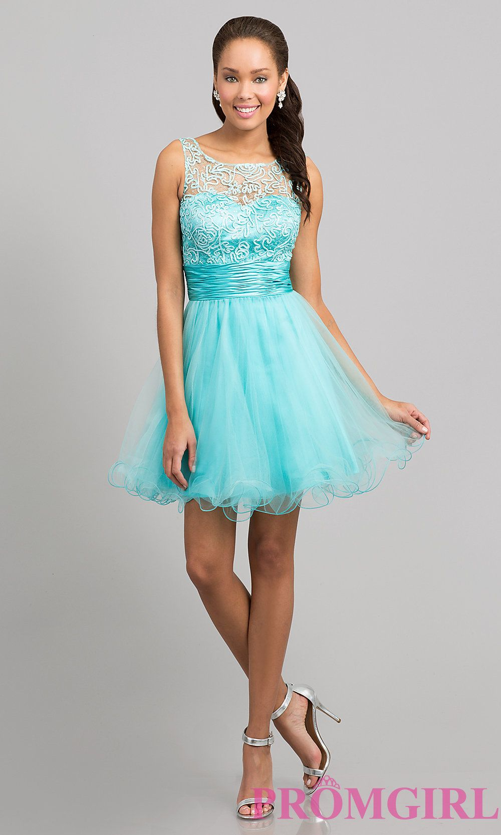 Short Prom Dress Style Dq 8704 Detail Image 1 Damas Dresses Prom Dresses Short Prom Dresses For Teens [ 1666 x 1000 Pixel ]