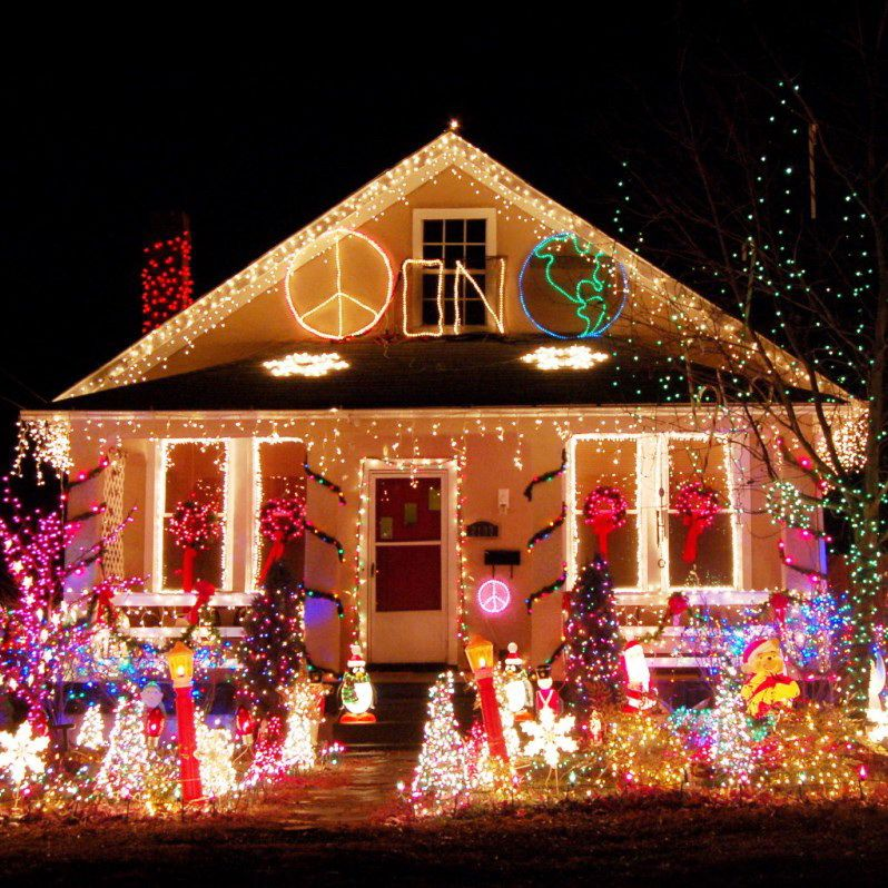Spectacular Outdoor Christmas Lights