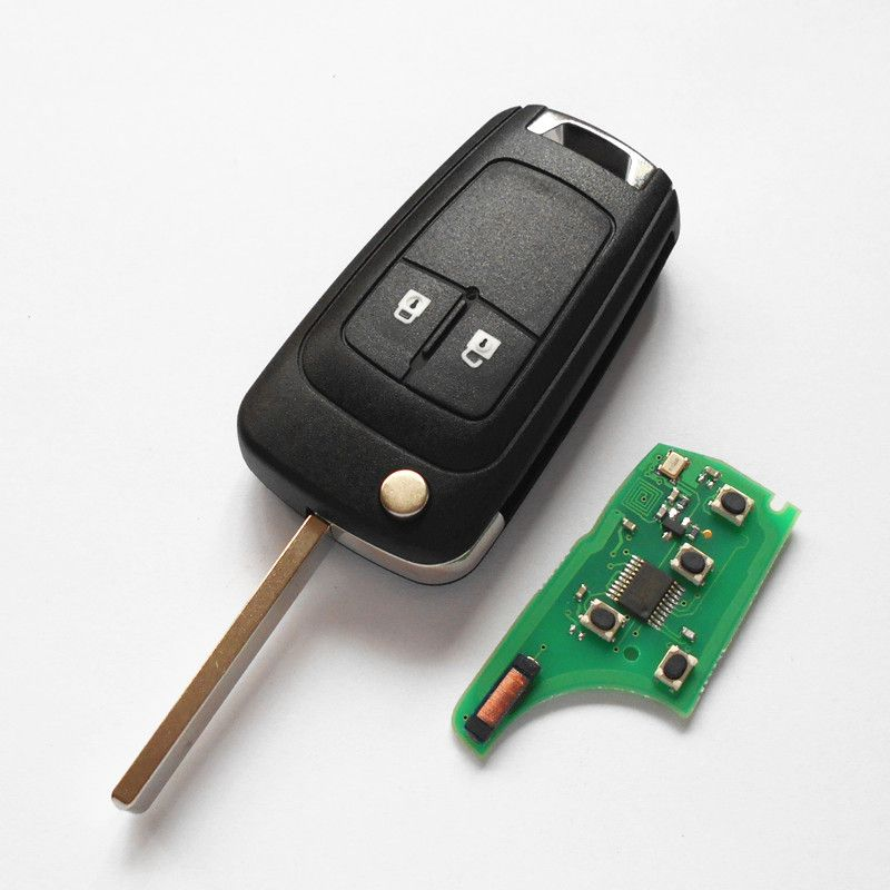 2 Button Car Remote Key 315mhz 433mhz For Vauxhall Opel Insignia Astra Zafira Mokka Agila Corsa Meriva Signum Tig Interior Accessories Chevrolet Cruze Vauxhall