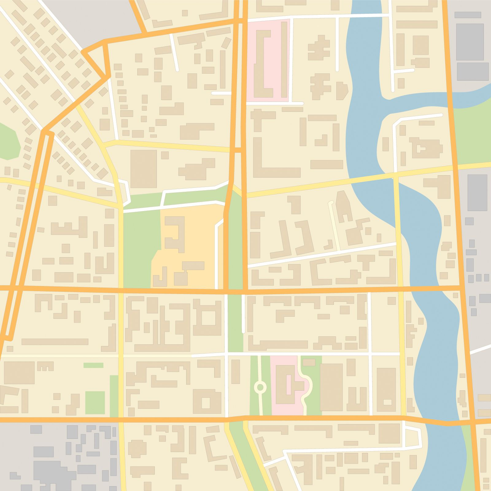 Zoning And Cities Map City Map Sustainable City