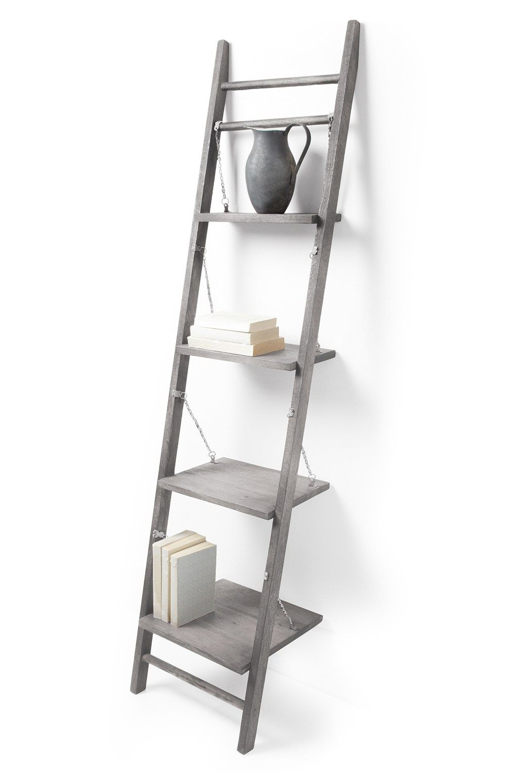 Leaning Shelves Storage French Connection Leaning Shelf Shelves Contemporary Home Furniture