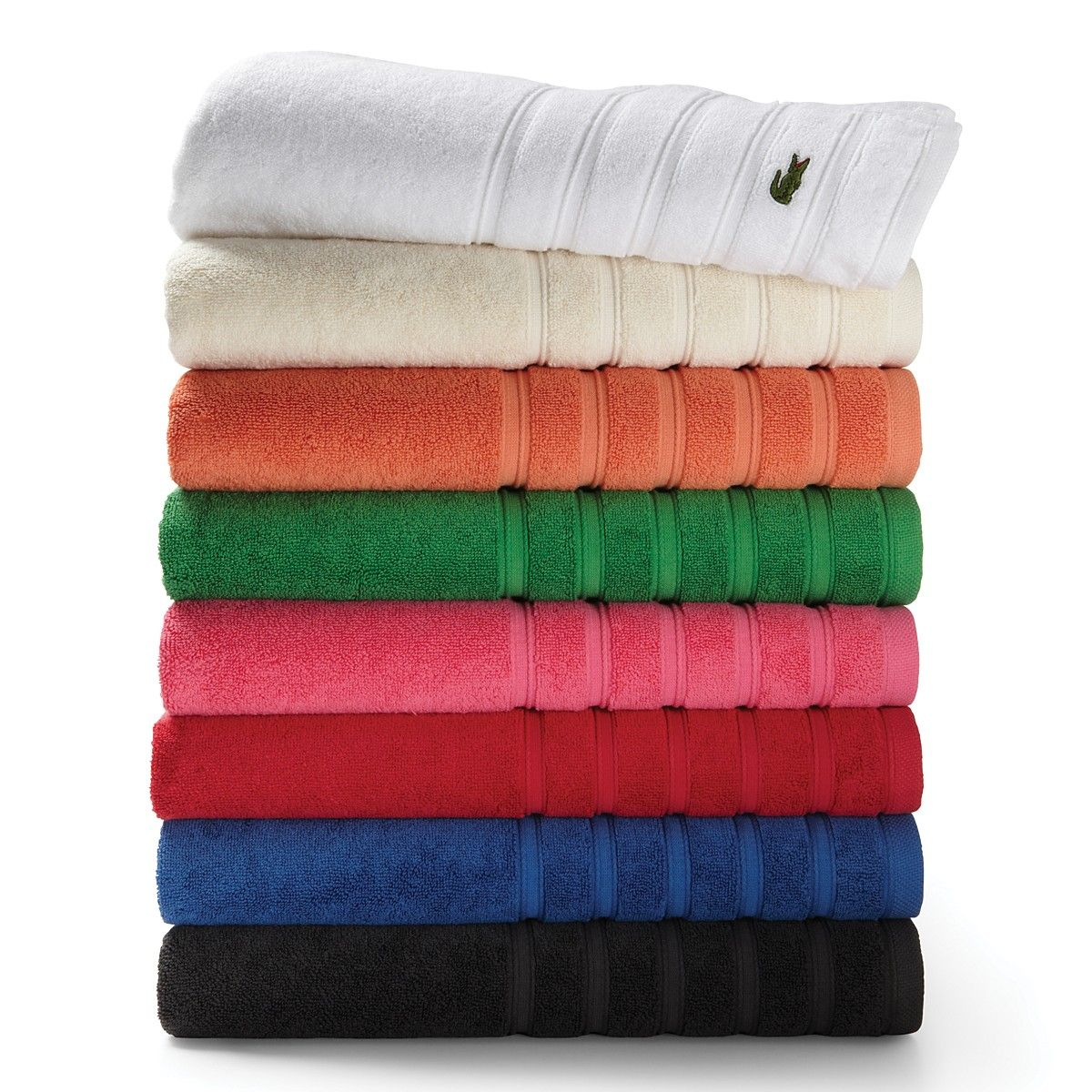 Lacoste Croc Bath Towels Bloomingdale S Towel Bath Towels