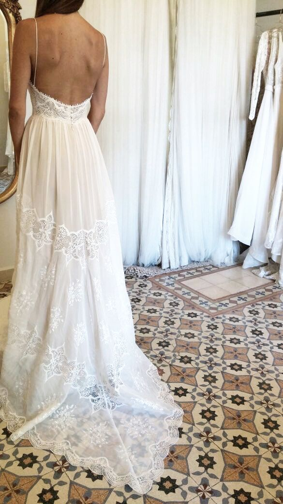 sexy beck! boho chic | flora bridal | white dress | wedding ...