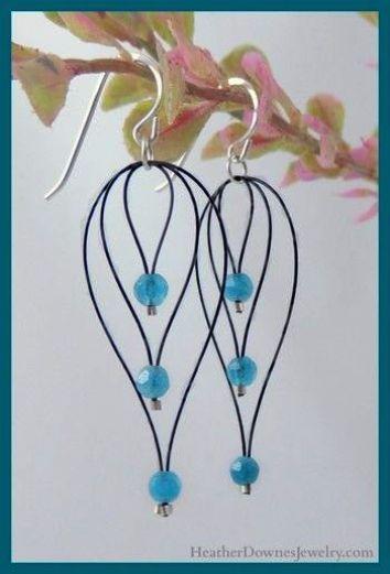 Diy Dangle Bead Earrings Homemade Angel Earrings Jewelry Knots