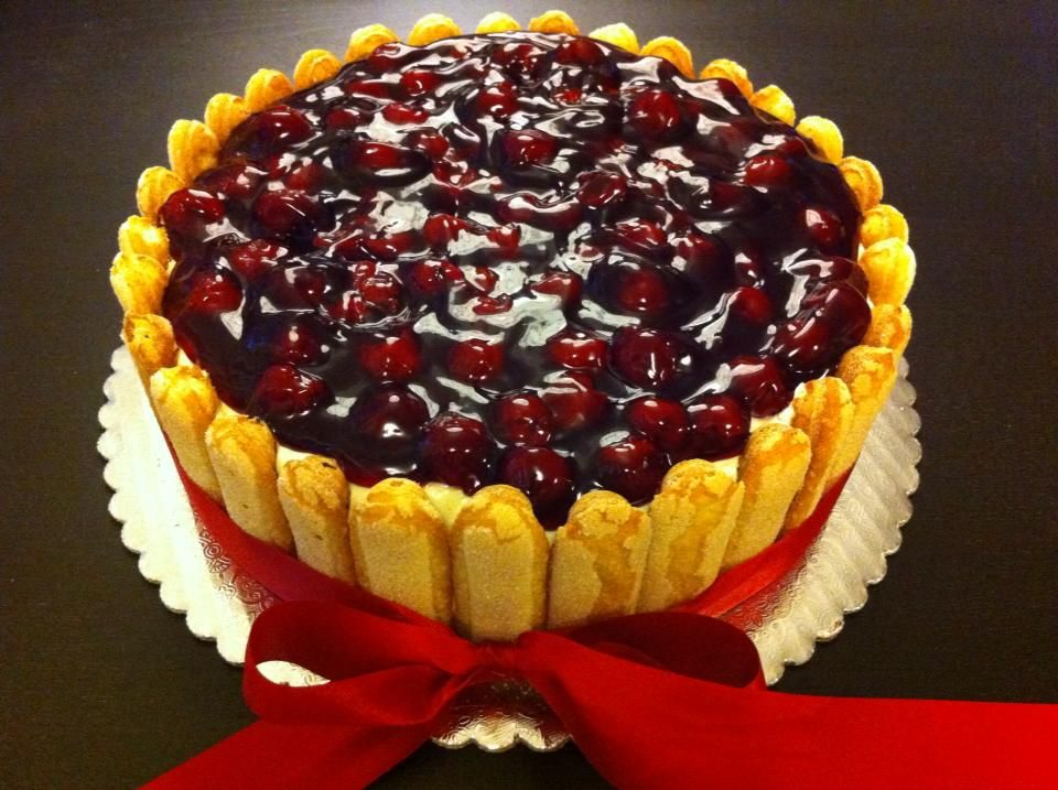 Ladyfingers cheesecake