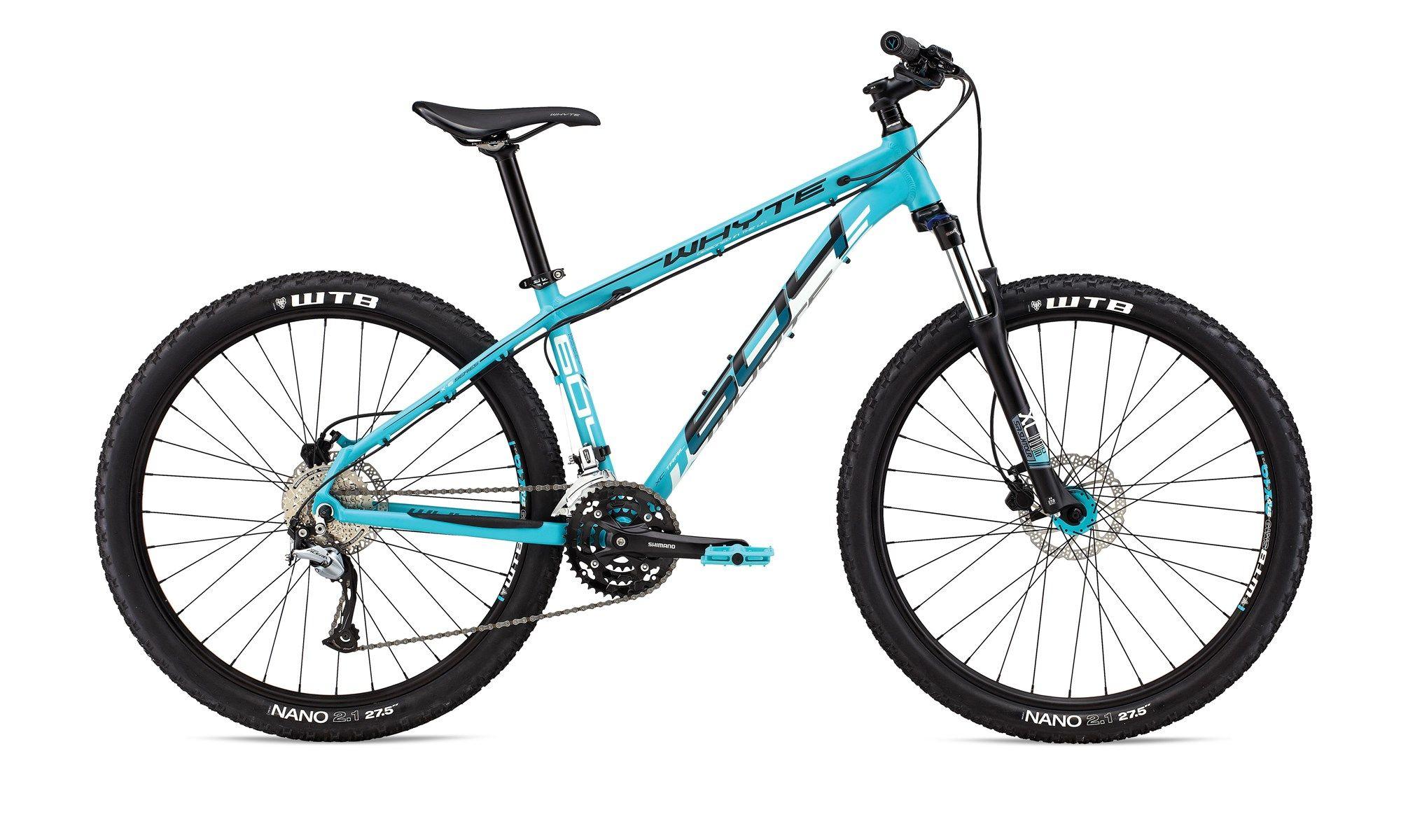 82fce4ac1b0 Ex-Hire 2016 Whyte 604 Womens 650b Hardtail Mountain Bike Blue ...