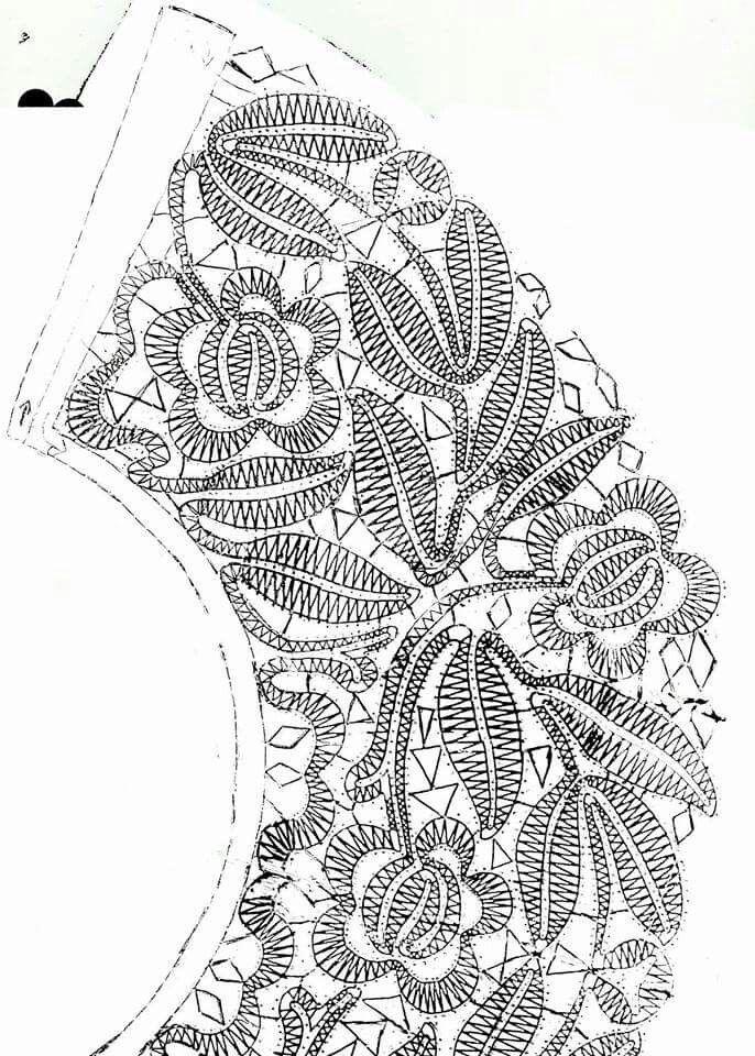 Abanico   Ирландское,Румынское кружево,Фриформ   Bobbin lace ...