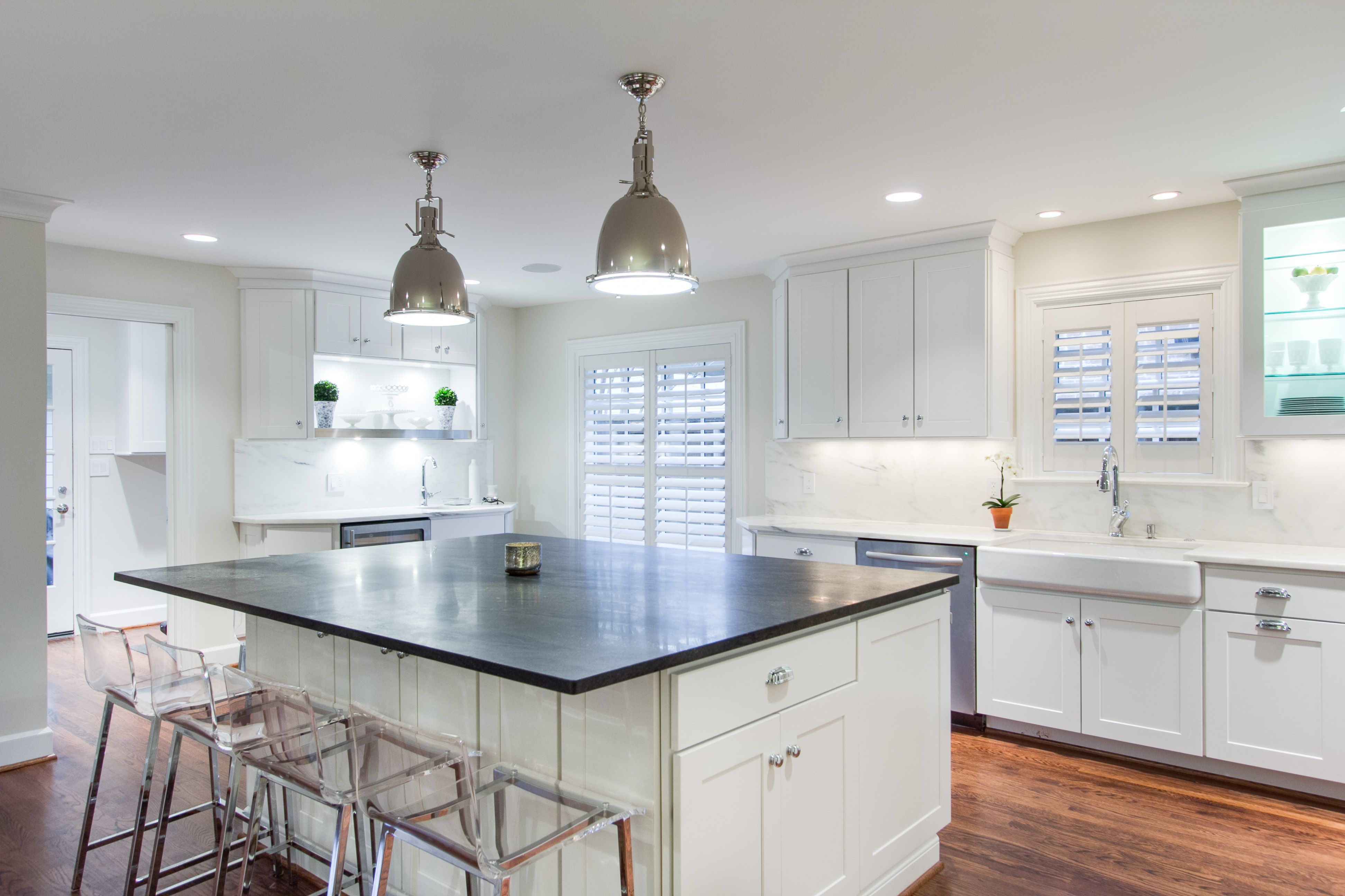WOLF Classic Cabinets in Dartmouth White — Kitchen designed by ...