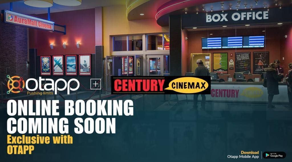 Now Booking CenturyCinemax Movie Tickets, Is as Easy as