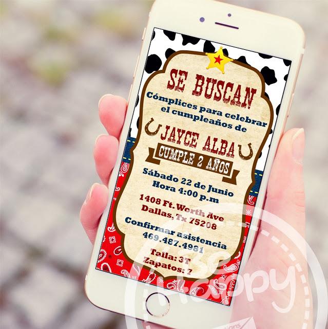 Be Happy Tarjeta De Invitación Digital Artofit