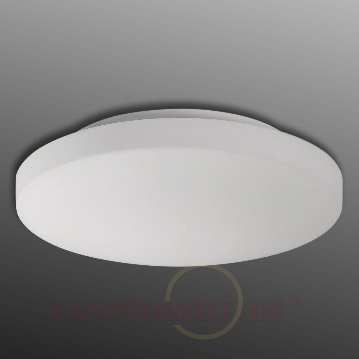 LED-Bad-Deckenleuchte Malte aus Opalglas kaufen   Pinterest   LED ...