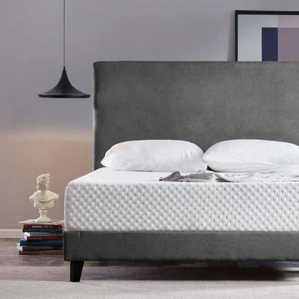 Neutral Reviews Huibo Queen Mattress 10 Inch Gel Memory Foam Mattress Cool Bed