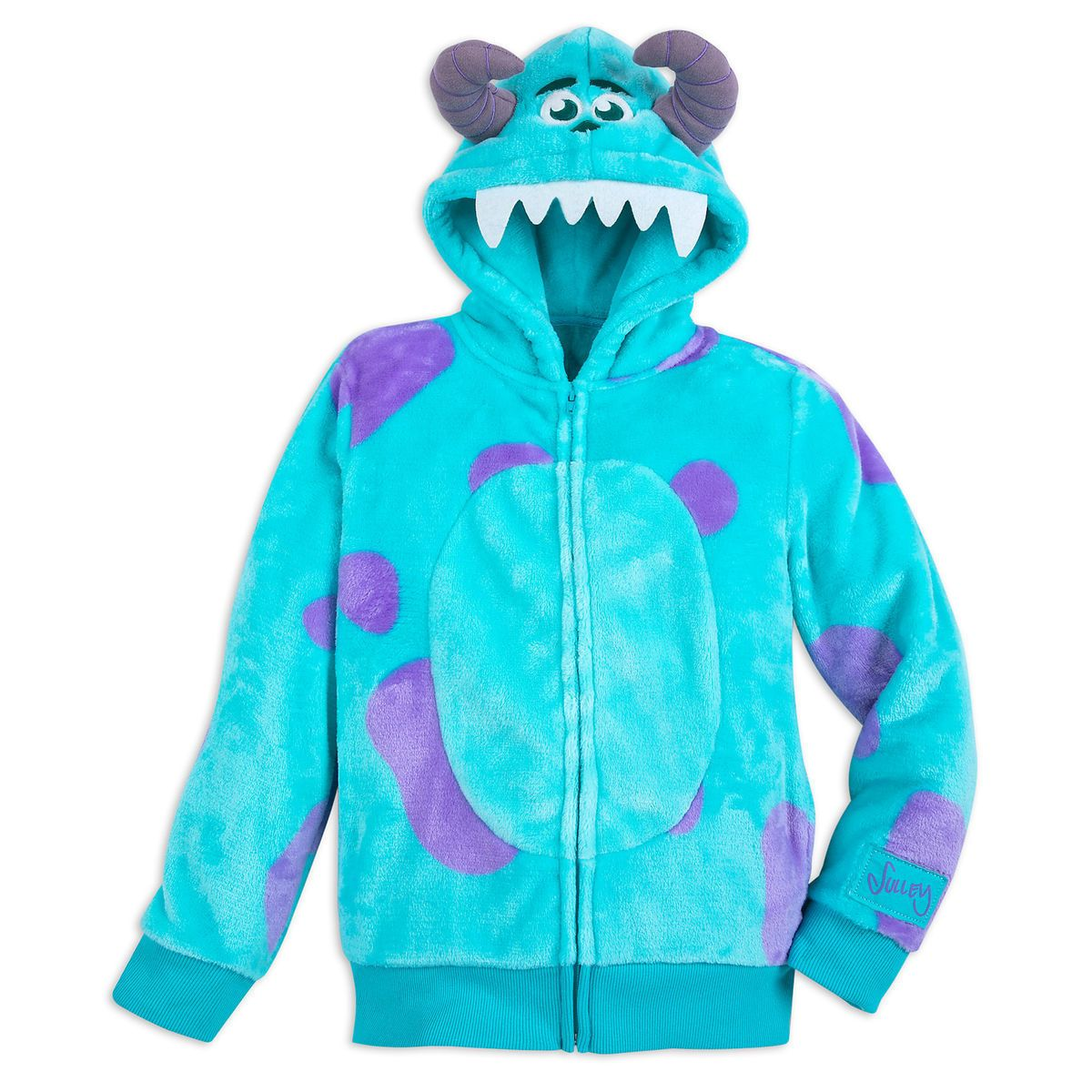 6fad3f7a2 Sulley Costume Zip Hoodie for Kids