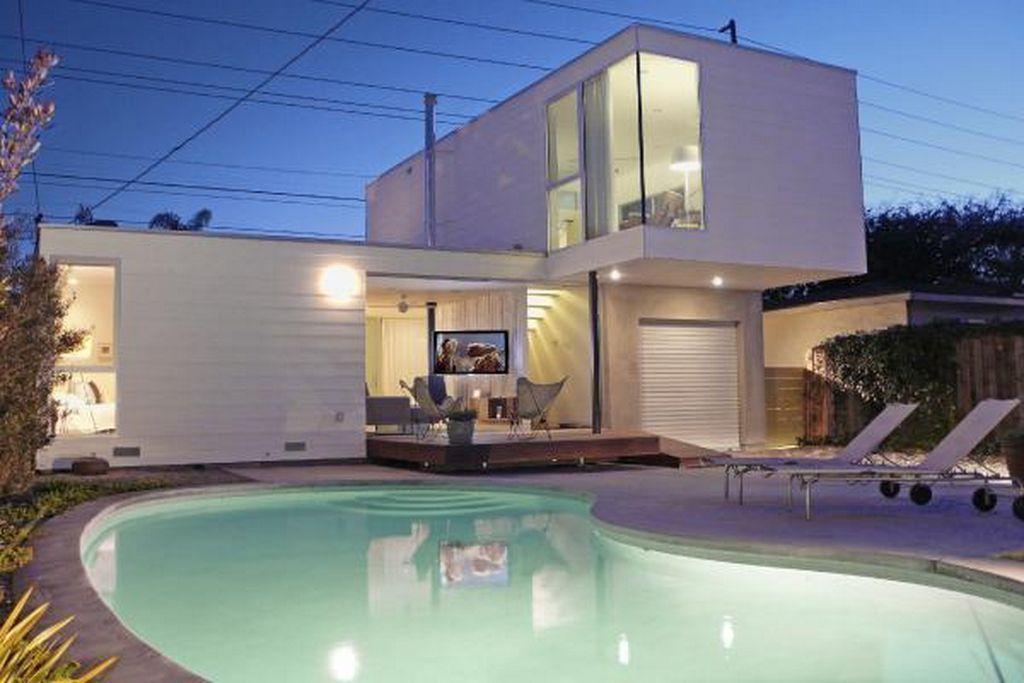 Small Modern Home Design Small Beach House Transformation into