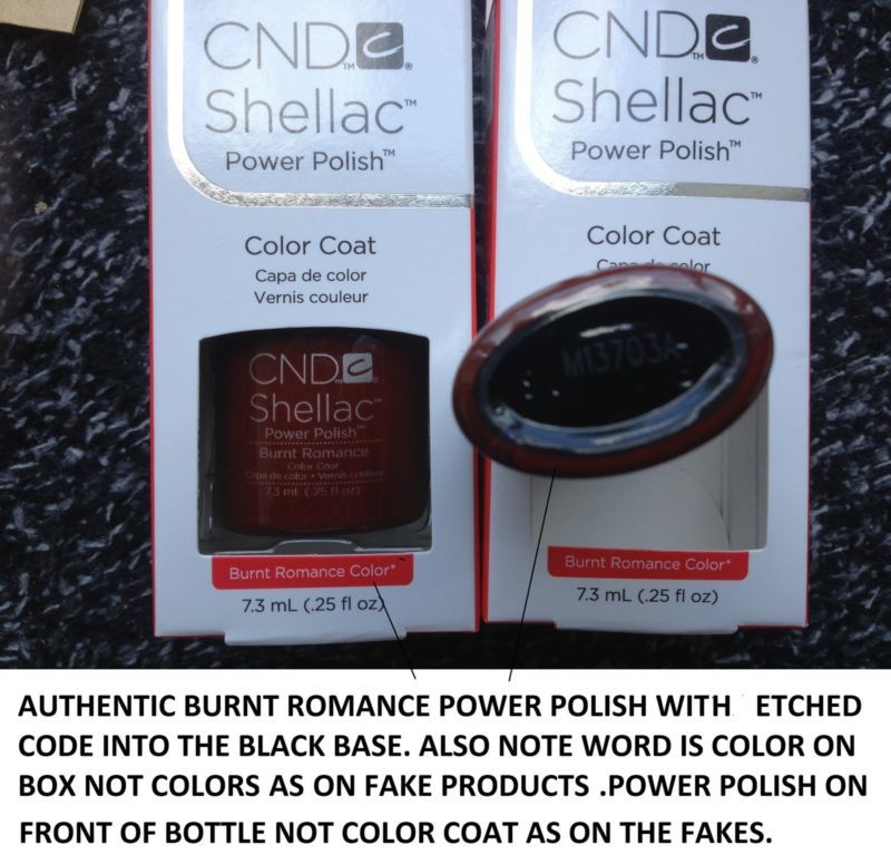 How-to-tell-Fake-CND-Shellac-from-Authentic-CND-Shellac- | Shellac nails