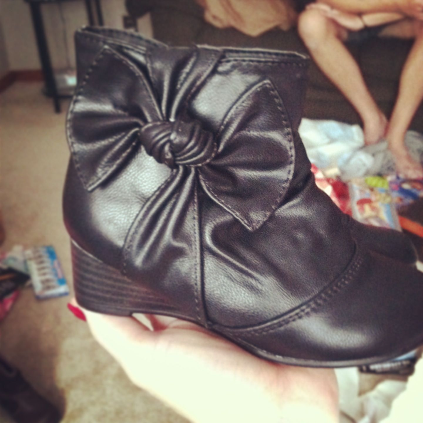 Baby stylish girl boots recommend to wear in everyday in 2019