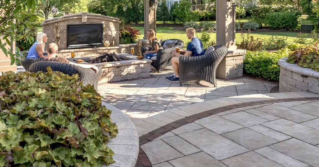 "beacon hill flagstonea""¢ unilock brick patios pinterest"