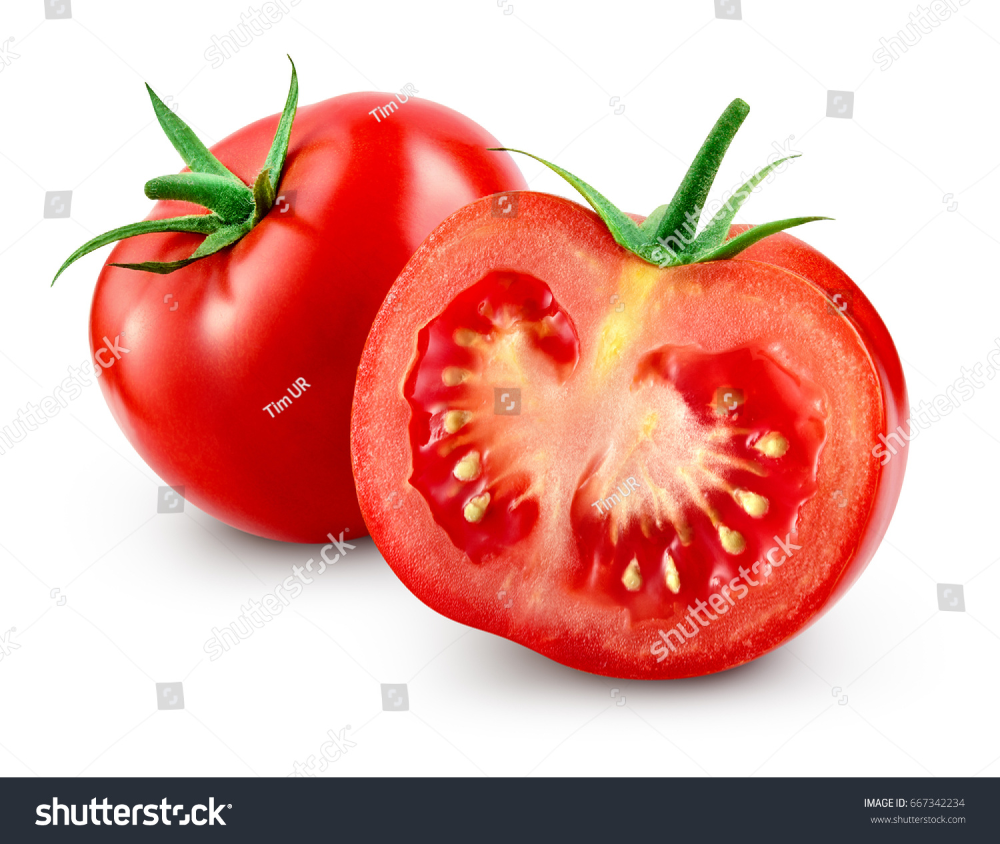 Tomato Slice Isolated Clipping Path Stock Photo Edit Now 667342234 Tomato Superfood Nutrition World