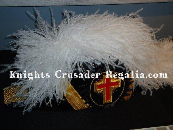 Knights Templar Chapeau | Camelot Regalia.com