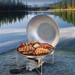 VitalGrill Camping BBQ